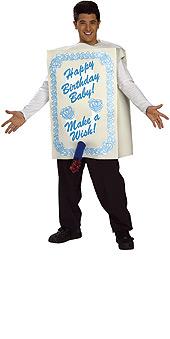 Fantastic Costumeone Size Chart For Birthday Cake Costume Personalised Birthday Cards Xaembasilily Jamesorg