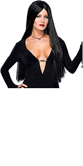 Addams Family Deluxe Morticia Adult Wig