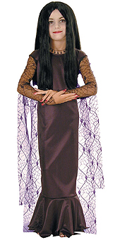 Addams Family Morticia Child Costume