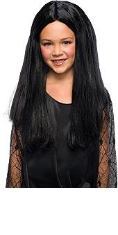 Addams Family Morticia Child Wig