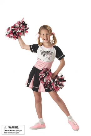 All Star Cheerleader Child Costume