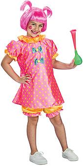 Baby Doll Clown Child Costume