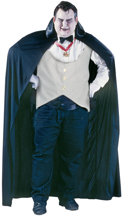 Big and Tall Dracula Costume