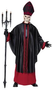 Black Mass Skeleton Costume