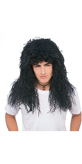 Black New Wave Wig