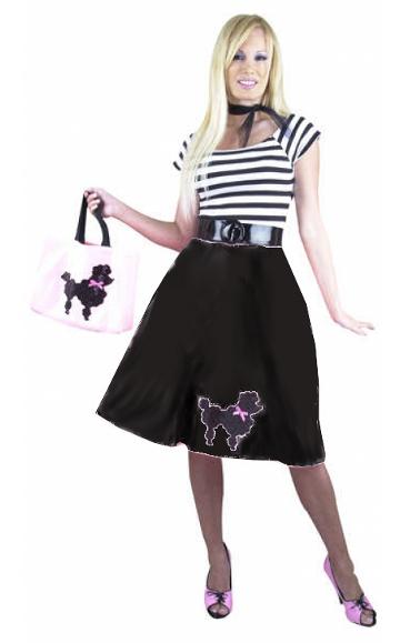 Black Poodle Dress Costume