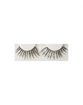 Black and Silver eyelashes