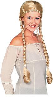 Blonde Renaissance Lady Wig