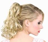 Blonde Wavy Pony Tail hairpiece