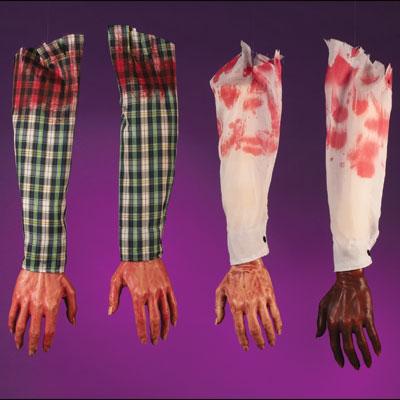 Bloody Dark Arm with White sleeve