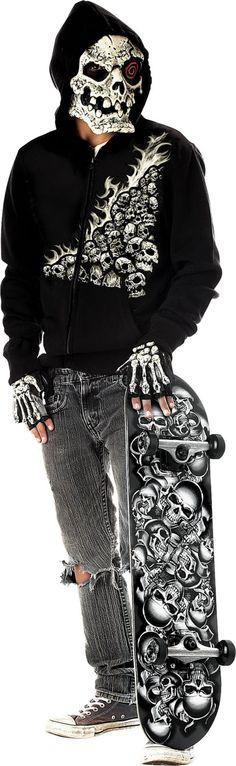 Bonehead Tween Costume