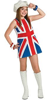 British Invasion Child Costume
