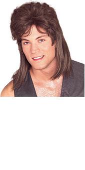 Brown Mullet Wigs | Brown Mullet Wig | Costume One