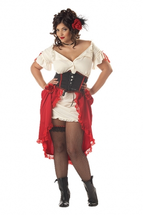 Cantina Gal Plus Size Costume