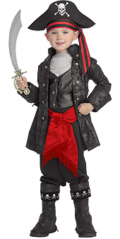 Captain Black Child Costume