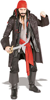 Captain Cut throat Costume