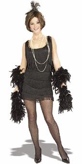 Chicago Flapper Black Costume