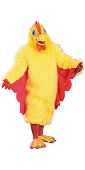 Chickie Chicken Adult Costume