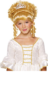 Child Charming Princess Wig Blonde
