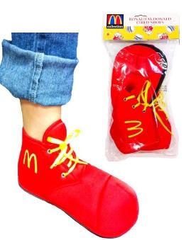 Child Ronald McDonald Clown Shoes