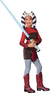 Clone Wars Ahsoka Child Costume