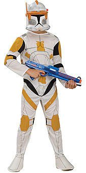 Clone Wars Cody Child Costume
