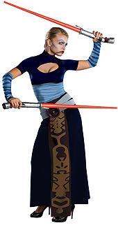Clone Wars Deluxe Asajj Ventress Costume