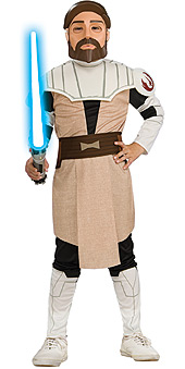 Clone Wars Obi-wan-kenobi Child Costume
