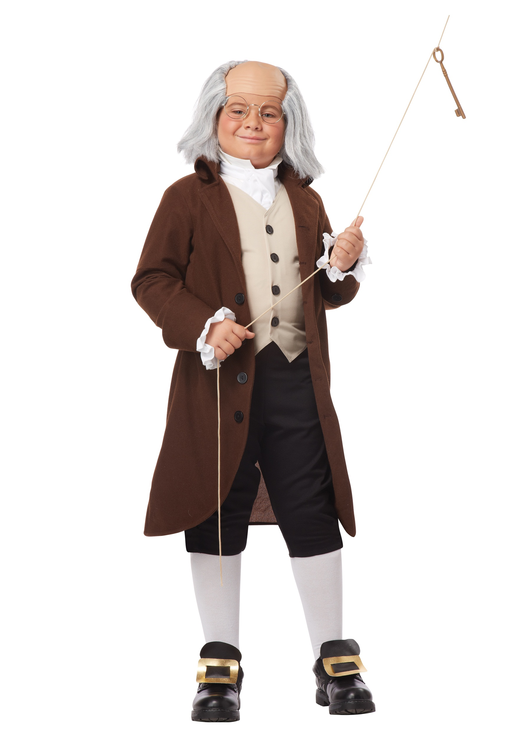 Colonial Man Benjamin Franklin Costume