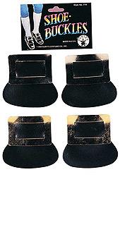 Colonial Shoe Buckles Silver