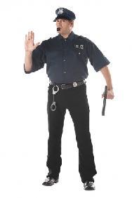 Cop Kit Plus Size Costume