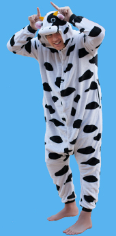 Cow Onesie Adult Costume