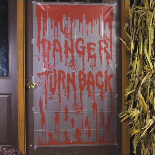 Danger Turn Back Door Cover