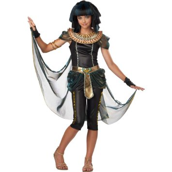 Dark Egyptian Princess Tween Costume
