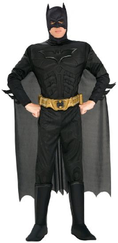 Dark Knight Rises Deluxe Muscle Chest Batman Costume