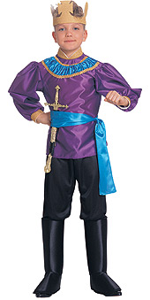 Deluxe Child King Costume