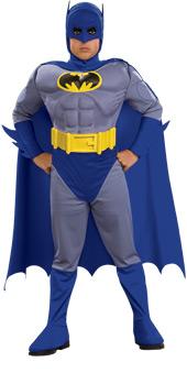 Deluxe Child Musclechest Batman Costume