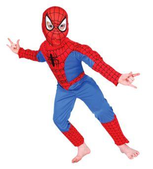 Deluxe Child Spiderman Costume