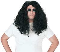 Disc Jockey Wig 19inch Black