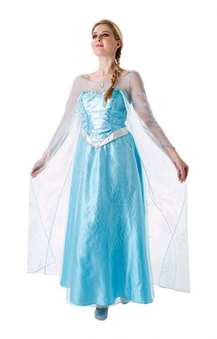 Disney Deluxe Frozen Queen Elsa Costume