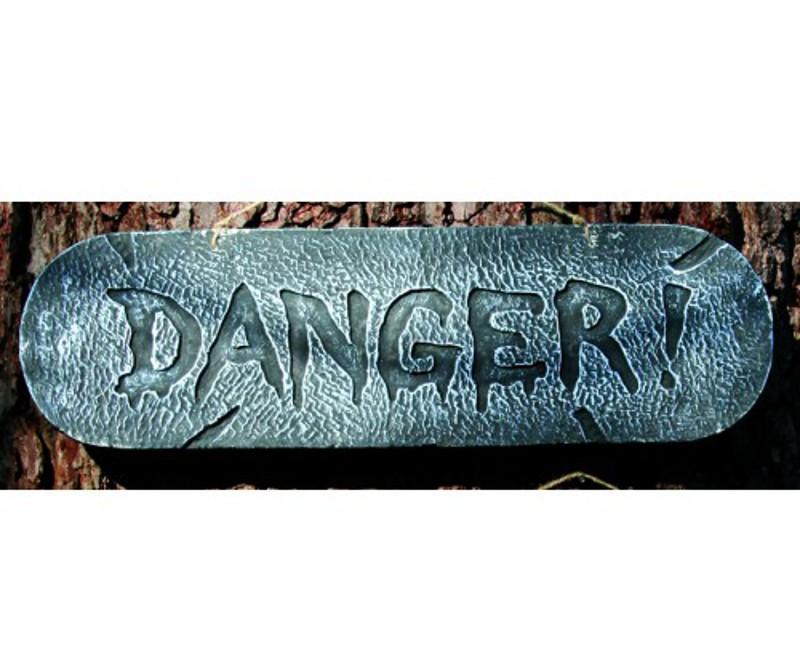 Distressed Sign DANGER