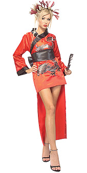 Dragon Lady Red Costume