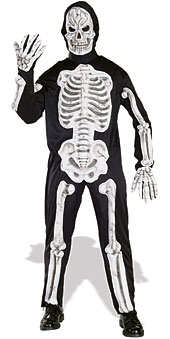 EVA Skeleton Adult Costume