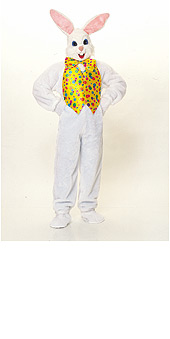 Easter Bunny Costume Deluxe Adult