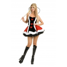 Enchanted Queen of Hearts Costume