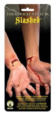 FX Theatrical Effect Slashed Skin Latex appliance