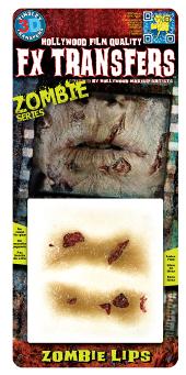 FX Zombie Lips 3D transfer