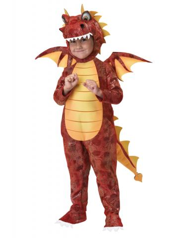 Fire Breathing Dragon Child Costume