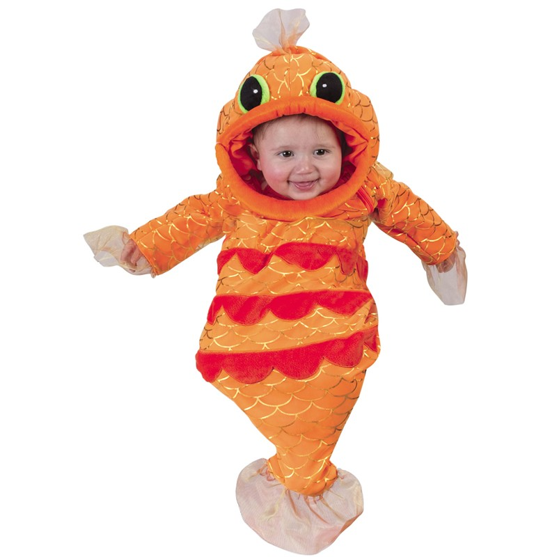 Fish bunting costumes fish bunting costume costume one for Baby fish costume