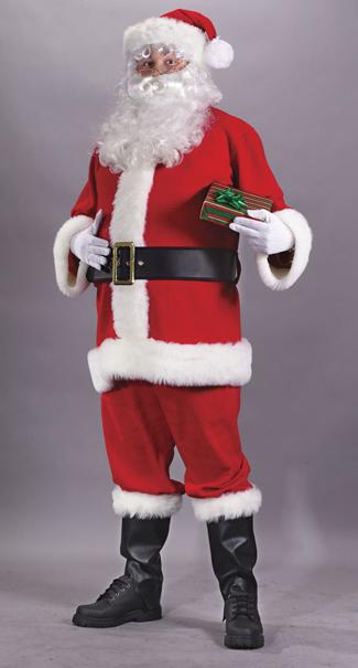 Flannel Santa Suit Costume
